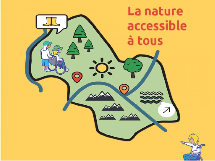 Bannière réalisée par nature isère sur la nature accessible, CC0 Domaine public