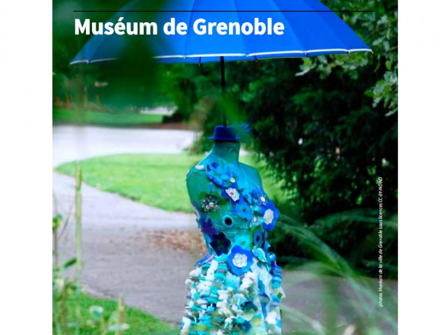 Page de couverture du programme groupe du Muséum