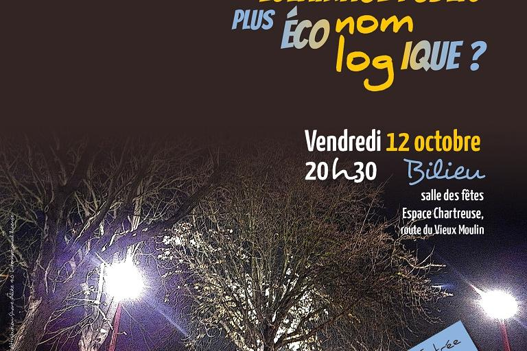 Affiche pollution lumineuse, le Pic Vert