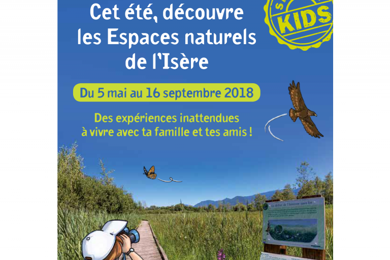 Cet été, découvre les Espaces naturels de l'Isère