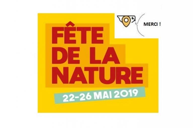 Chouette de nature isère qui remercie les contributeurs d'avoir partagé leurs témoignages sur la fête de la nature 2019