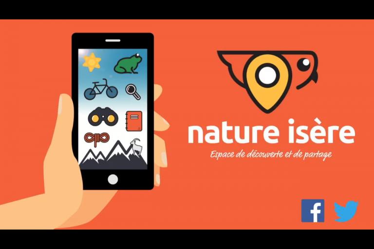 Capture écran de la Vidéo de présentation de Nature isère