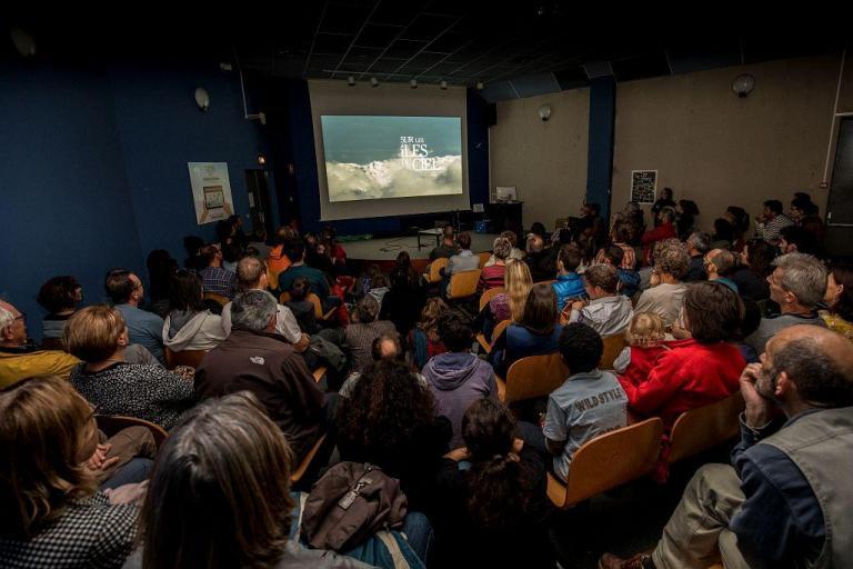Photo du Parc national des Ecrins, salle conférence auditorium de Grenoble sur nature isère