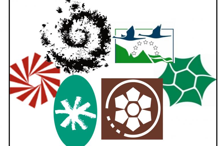 Logo de certains outils de protection de la nature sur nature isère
