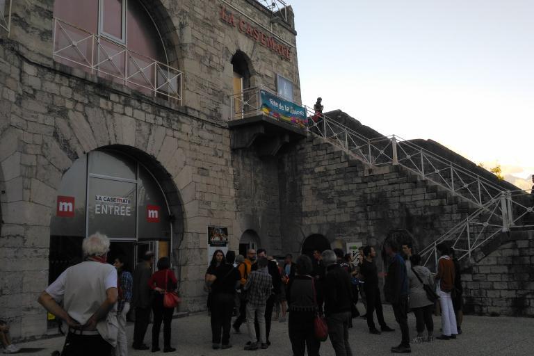 Inauguration les mondes inconnus à la CASEMATE CCSTI