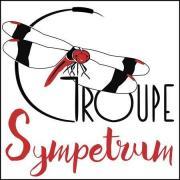 Logo de l'association Groupe de Recherche et de Protection des Libellules « Sympetrum » (GRPLS) sur nature isère