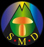 Logo de la société mycologique du Dauphiné SMD38, nature isère