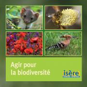 Capture écran de la plaquette Agir pour la biodiversité, nature isere