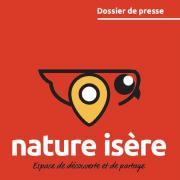Première page du dossier de presse de nature isère