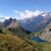 Photo du massif des Ecrins, CC0, nature isère