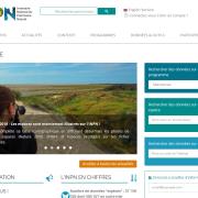 Capture d'écran de l'INPN, nature isere