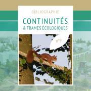 Première page de la bibliographie sur les continuités et trames écologiques réalisée par la MNEI sur nature isère