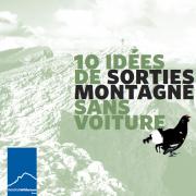 Couverture de la plaquette 10 idées de sorties montagne sans voiture dans le Vercors, nature isère