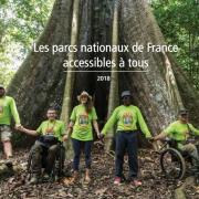 Première page du Guide des parcs nationaux accessibles à tous sur nature isère