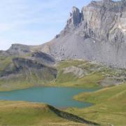 Photo du Lac d'Anterne.