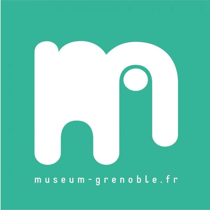 Logo du muséum de Grenoble sur nature isère