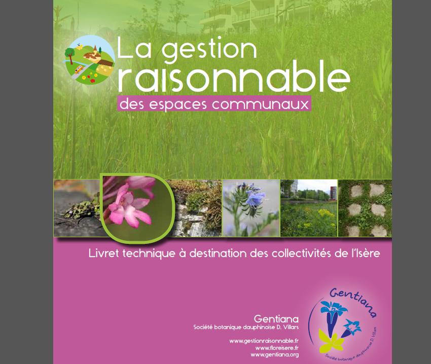 Guide de la gestion raisonnable des espaces communaux, Gentiana, nature isère