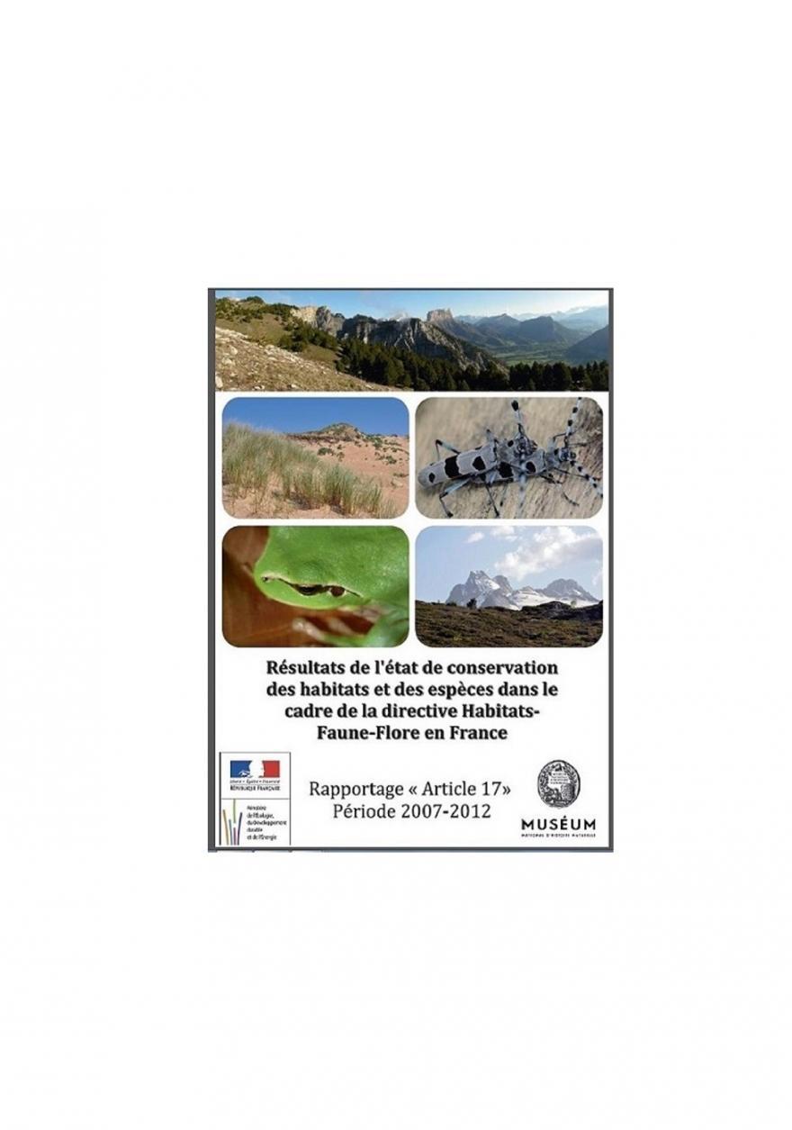 Rapport sur l'état de conservation des espèces et des habitats en France