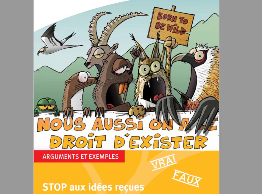 Première page de la publication STOP aux idées reçues sur la gestion des espaces naturels sur Nature isère