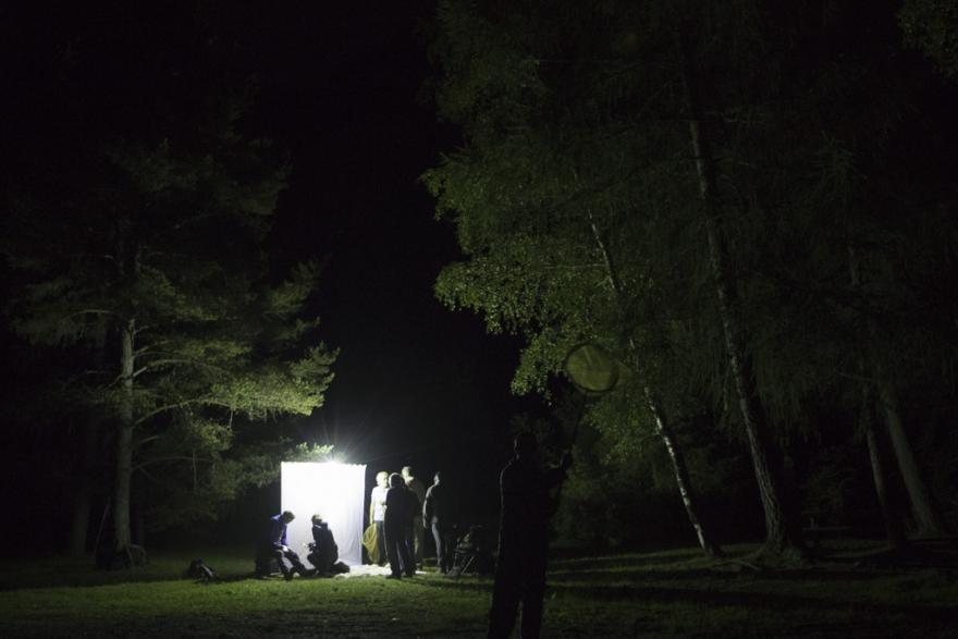 Ateliers nocturnes  © P.Saulay - Parc national des Écrins