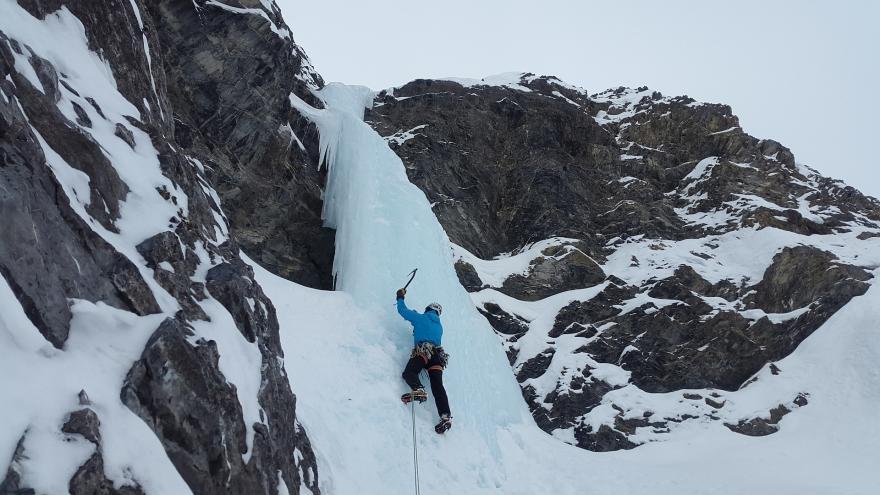 Cascade de glace, CC0 domaine public