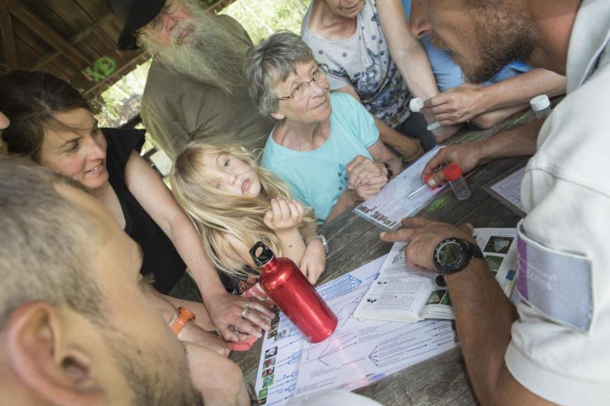 Un événement pour tous pour découvrir la biodiversité cachée © P.Saulay - Parc national des Écrins