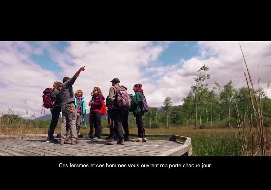Vidéo sur les espaces naturels sensibles de l'Isère (ENS) sur nature isère