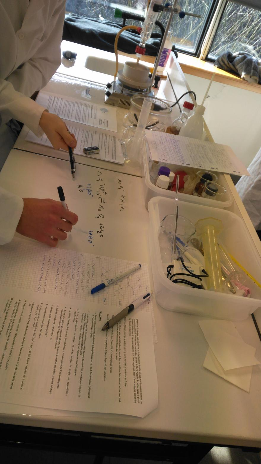 équation de chimie