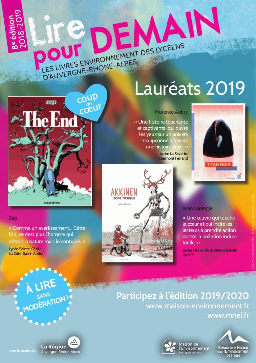 Prix Lire Pour Demain 2018 2019 Nature Isere