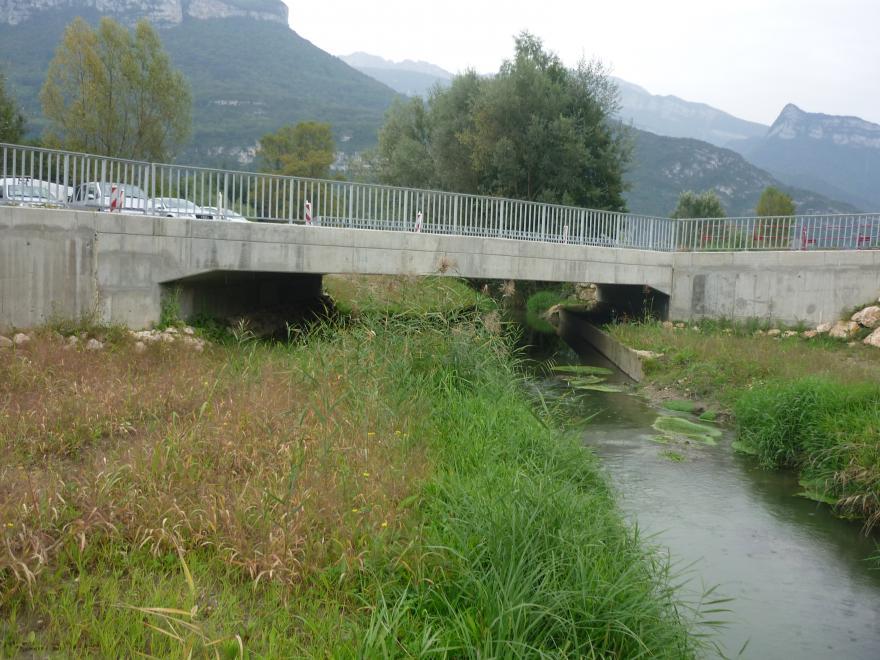 Passage à faune à Voreppe - Département de l'Isère