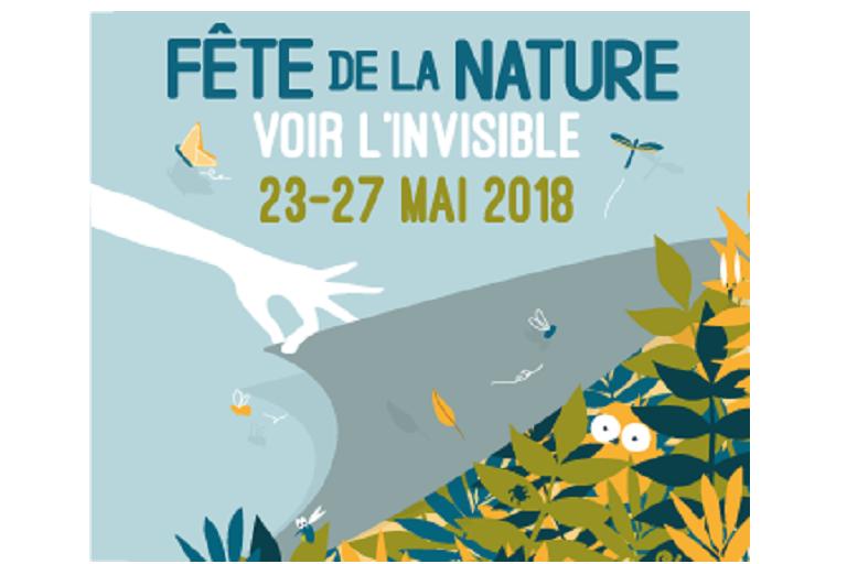 Affiche de la Fête de la nature, du 23 au 27 mai 2018, nature isère