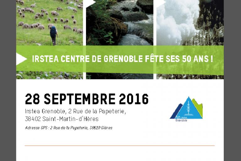 50 ans d'Irstea Grenoble