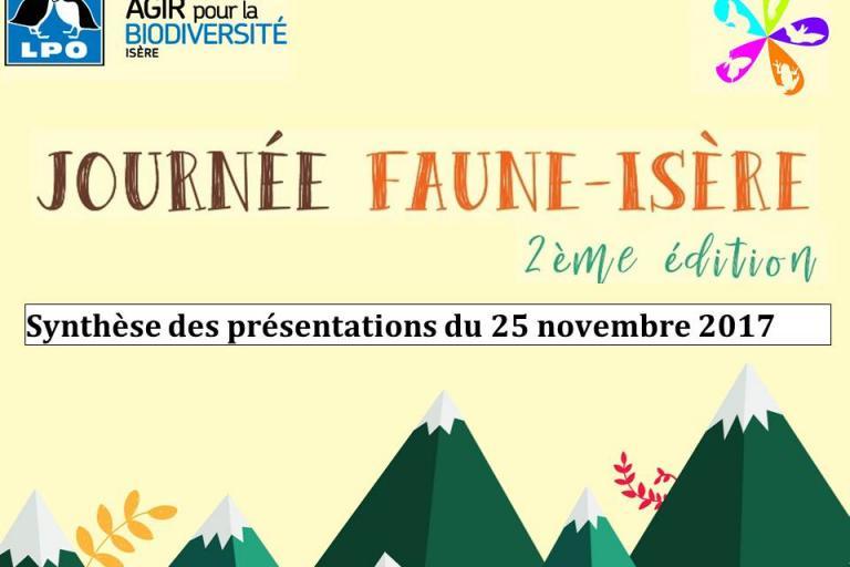 Présentation du 25 novembre sur Faune isère au Muséum de Grenoble