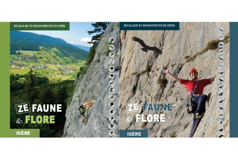 Couverture de la plaquette Ze faune flore du Département de l'Isère